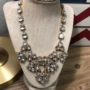 Brilliant gem stone necklace